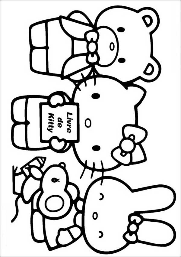 Hello Kitty 06 zu malen