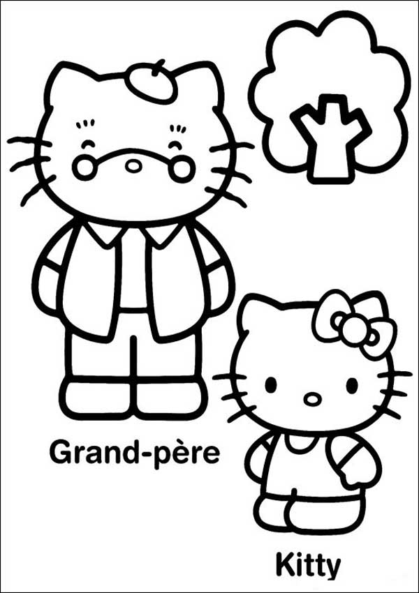 Ausmalbilder von Hello Kitty 16