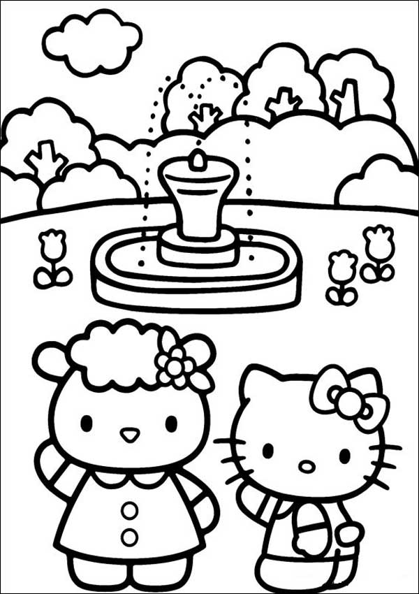 Hello Kitty 20 mit Fifi