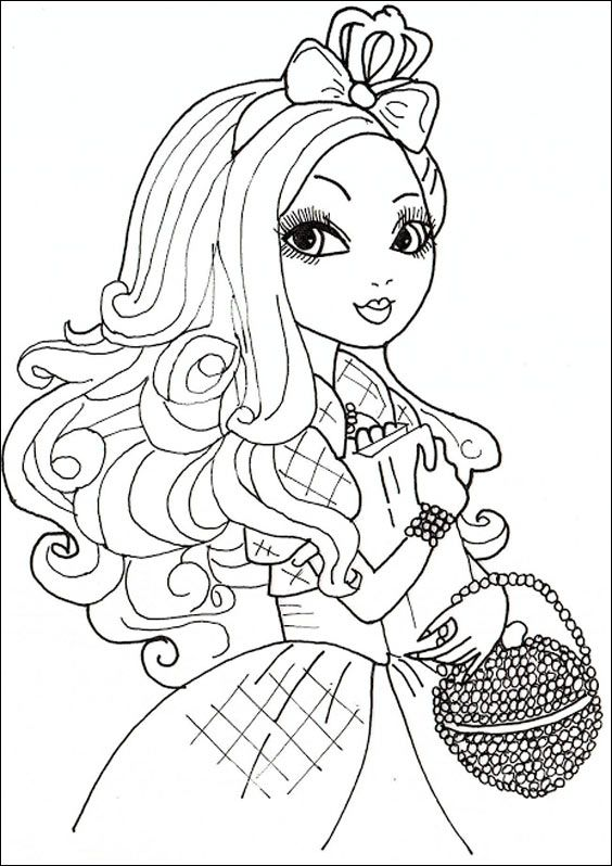 Ever After High 09 Apple White