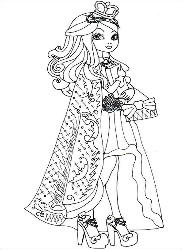 Ever After High 10 zum drucken