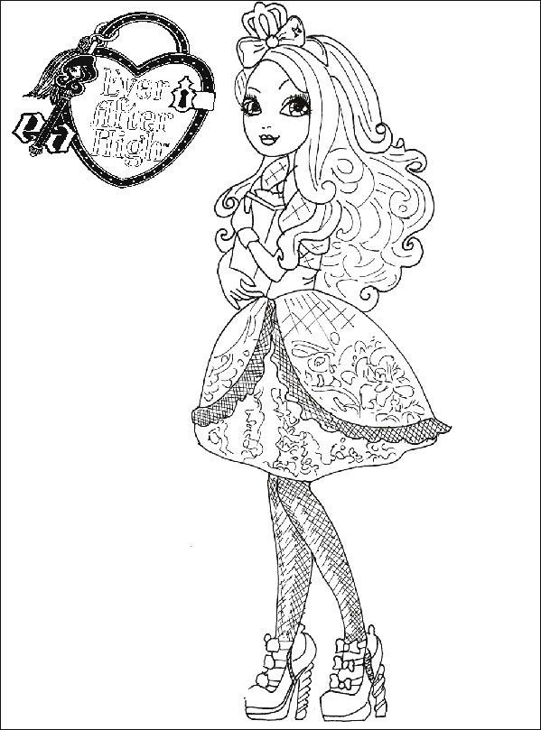 Ever After High 12 malvorlagen