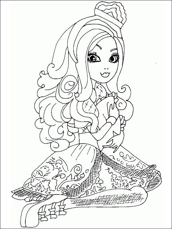 Ever After High 17 zum ausmalen