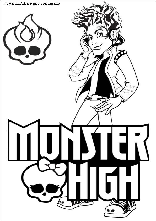 Monster High 10 Holt Hyde