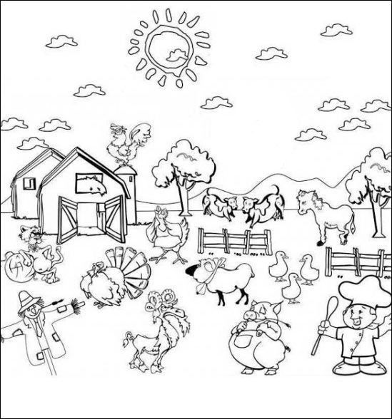 Holiday Coloring Pages phineas and ferb coloring pages : Ausmalbilder Bauernhof 16 : Ausmalbilder zum ausdrucken