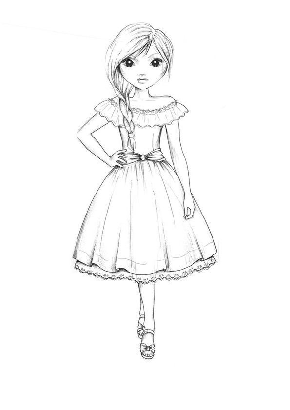 model coloring pages - photo#25