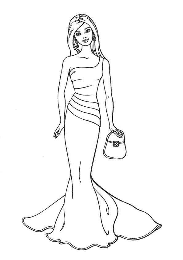 Free Coloring Pages Of Topmodel Biz Malvorlagen