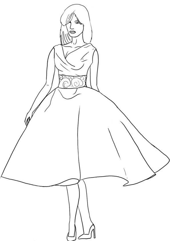 setcard top models coloring pages - photo#32