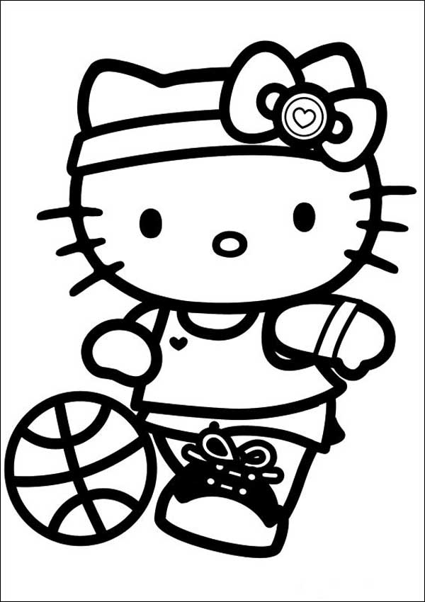 Hello Kitty zum ausmalen 25