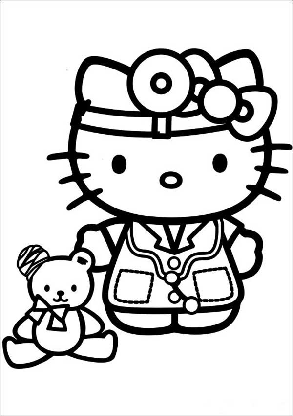 Hello Kitty zum ausmalen 26