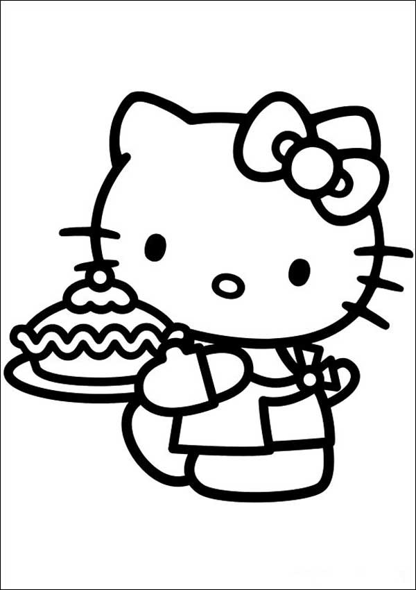 Hello Kitty zum ausmalen 27