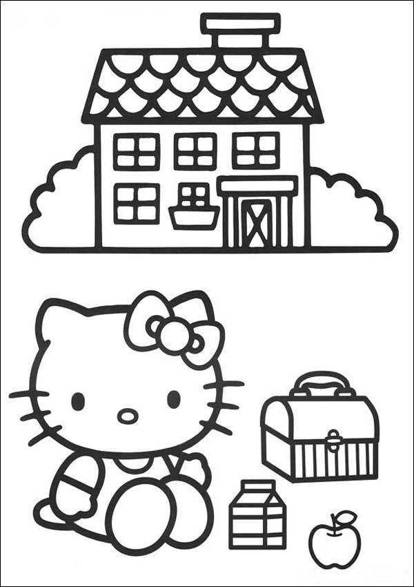 Ausmalbilder Hello Kitty 35