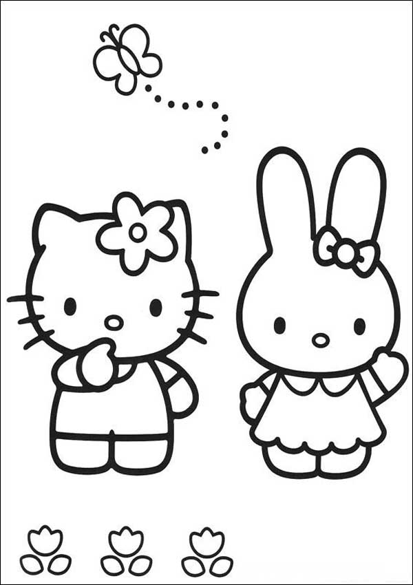 Ausmalbilder Hello Kitty 38