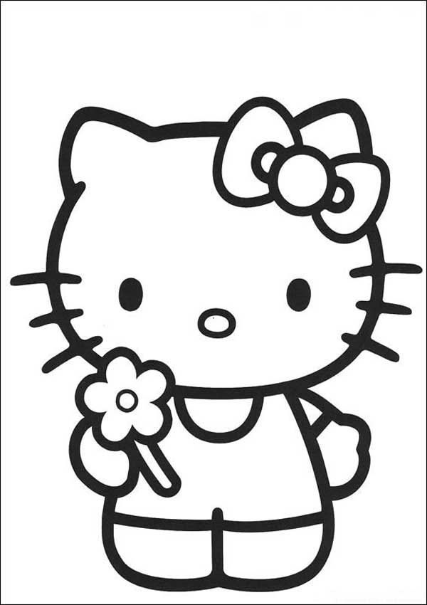 Ausmalbilder Hello Kitty 40