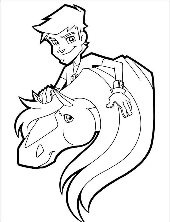 horseland zoey coloring pages - photo#13