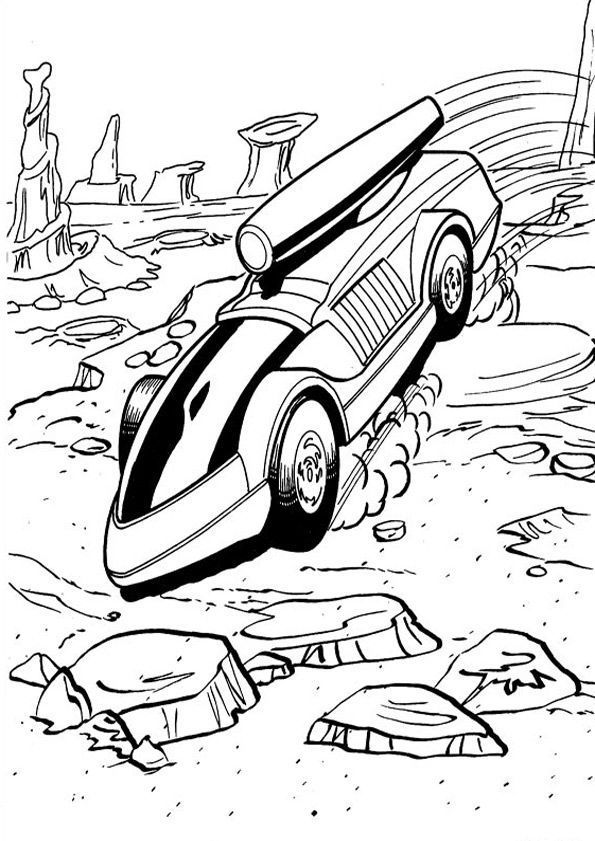 Ausmalbild Wheels: Free Printable Hot Wheels Coloring Pages For Kids