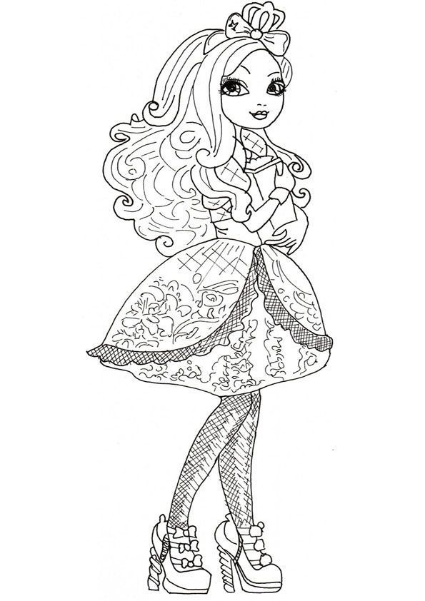 Ever After High zum ausmalen 19