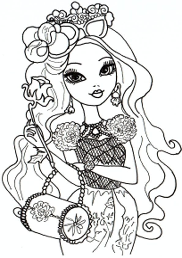 Ever After High zum ausmalen 21