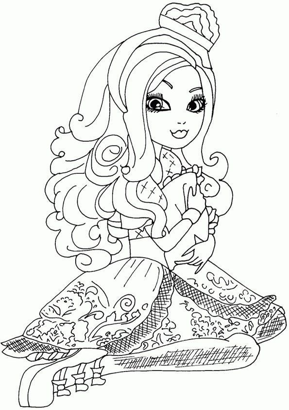 Ever After High zum ausmalen 23
