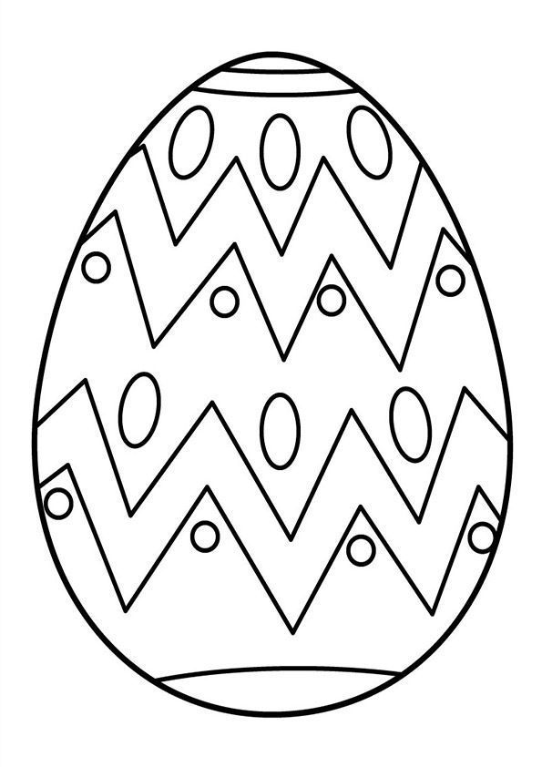 large easter coloring pages - photo#19